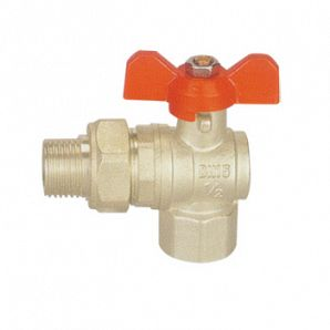 Two-way brass ball valves