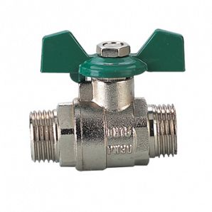 Male thread brass ball valves