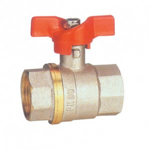 Handle brass ball valve