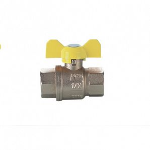 Iron handle gas ball valves