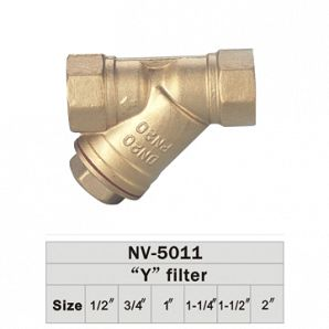 Brass filter valves
