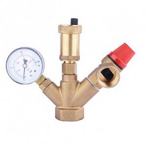 Boiler pressure valve