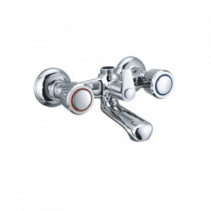 Double handle bathtub mixer