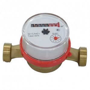 Dry Type Vane Wheel Hot Water Meter