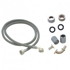 Washing machine water inlet pipe