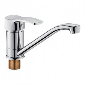 Single lever sink faucets